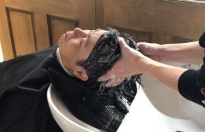 男性の髪の正しい洗い方・乾かし方①